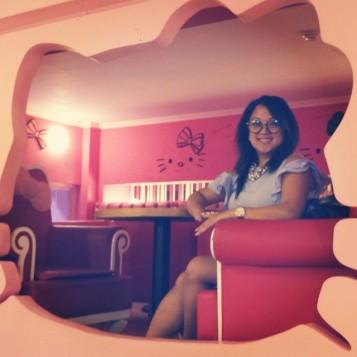 Hello Kitty Cafe Hongdae, S. Korea