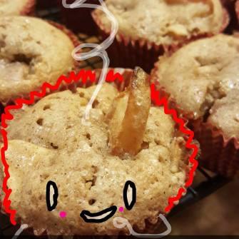 happy mini swedish apple pie