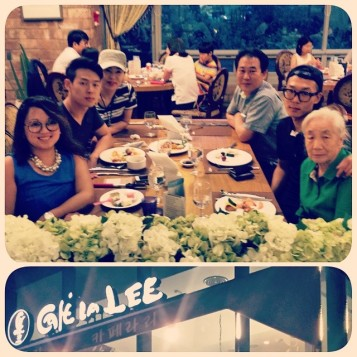 With my Adopted Korean Family