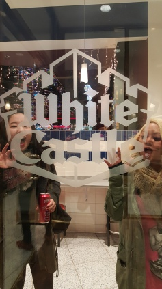 HeeEun and Michelle go to White Castle