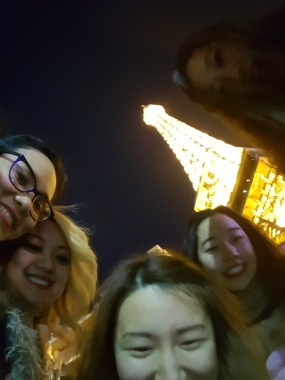 We went to Paris!