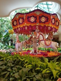 Wynn Floral Carousel. Wynn Hotel and Casino