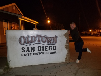 Old Town State Historic Park. Oldest Town in California