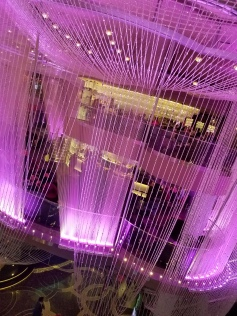 Cosmopolitan Chandelier at Cosmopolitan Casino and Hotel.